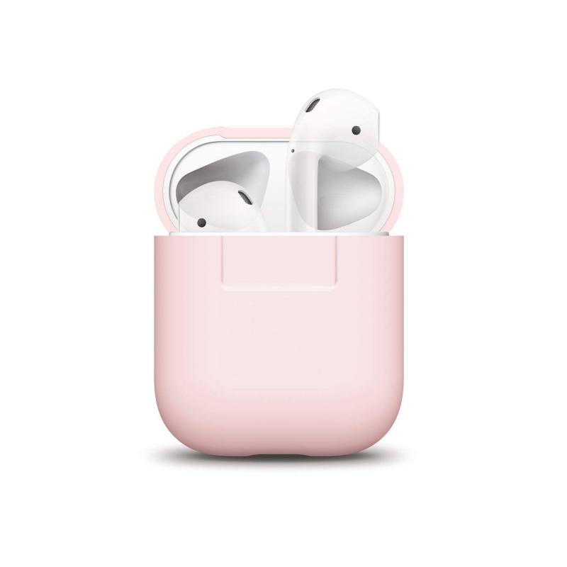 Чехол  для AirPods (Аирподс) – Розовый