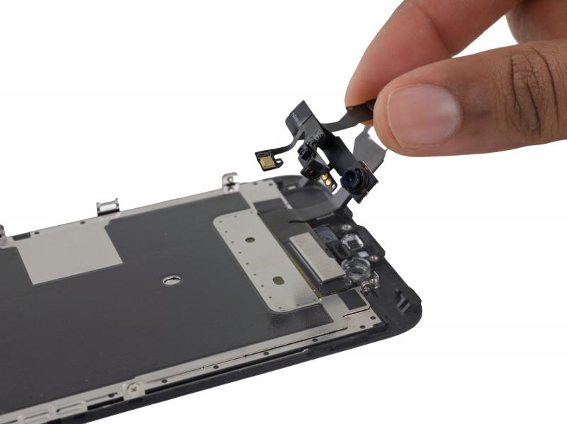 Замена фронтальной камеры (шлейф датчиков) iPhone 6s