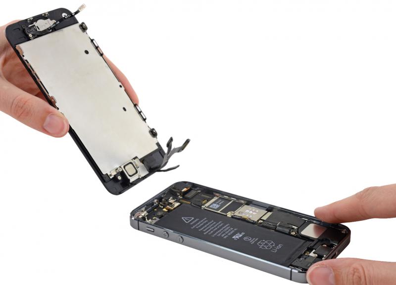 Замена LCD (Дисплей + Стекло) iPhone SE
