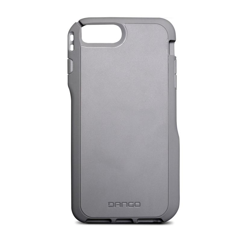 Чехол Dango Covert на iPhone 7 Plus  (Айфон) - Серебристый