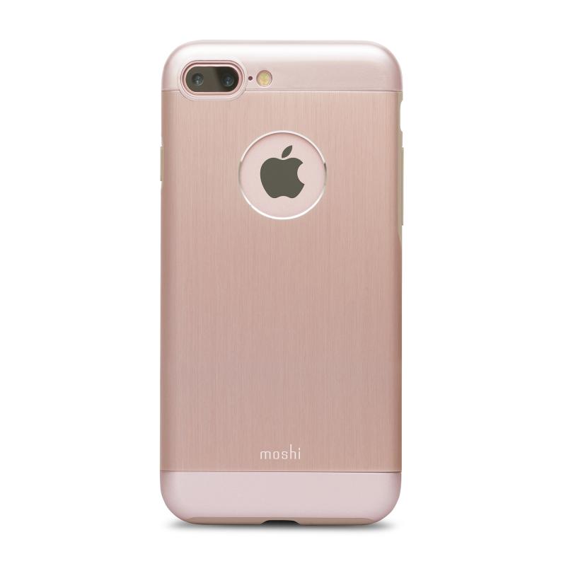 Чехол Moshi Armour  на iPhone 7 Plus/8 Plus (Айфон) – Розовый