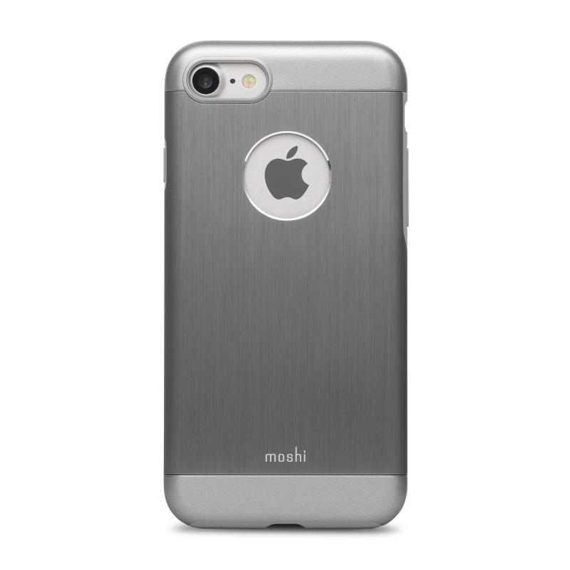 Чехол Moshi Armour  на iPhone 7/8 (Айфон) – Серебристый