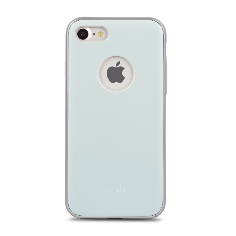 Чехол Moshi iGlaze  на iPhone 7/8 (Айфон) – Голубой