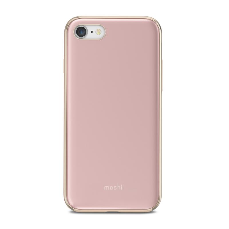 Чехол Moshi iGlaze на iPhone 8  (Айфон) - Розовый