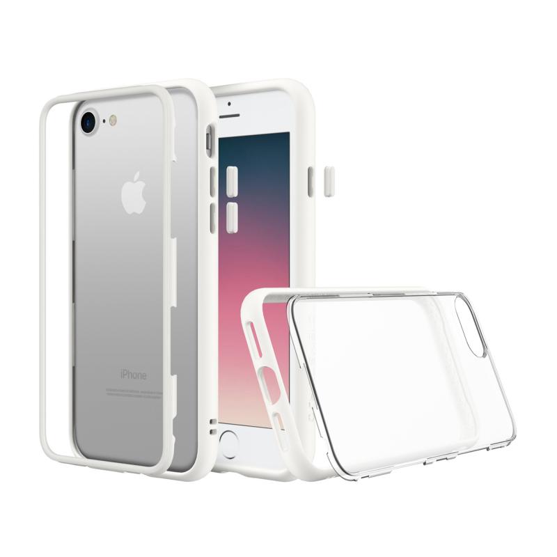 Чехол RhinoShield MOD на iPhone 7  (Айфон) - Белый