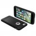 Чехол Spigen (SGP) Rugged Armor на iPhone 7  (Айфон) - Чёрный