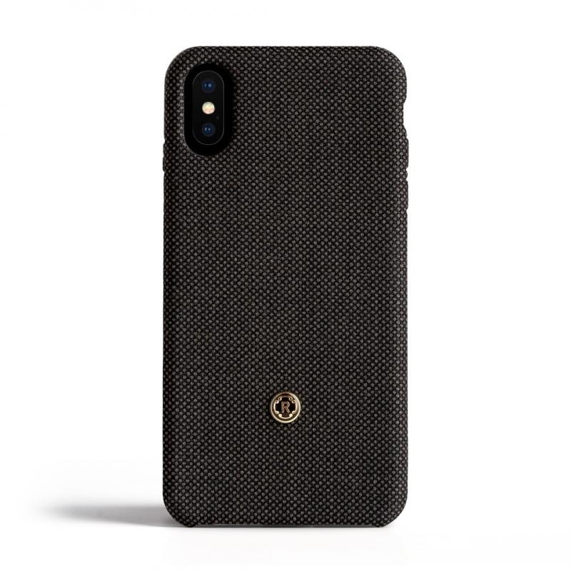 Чехол Revested (Bird's Eye) на iPhone X - Чёрный