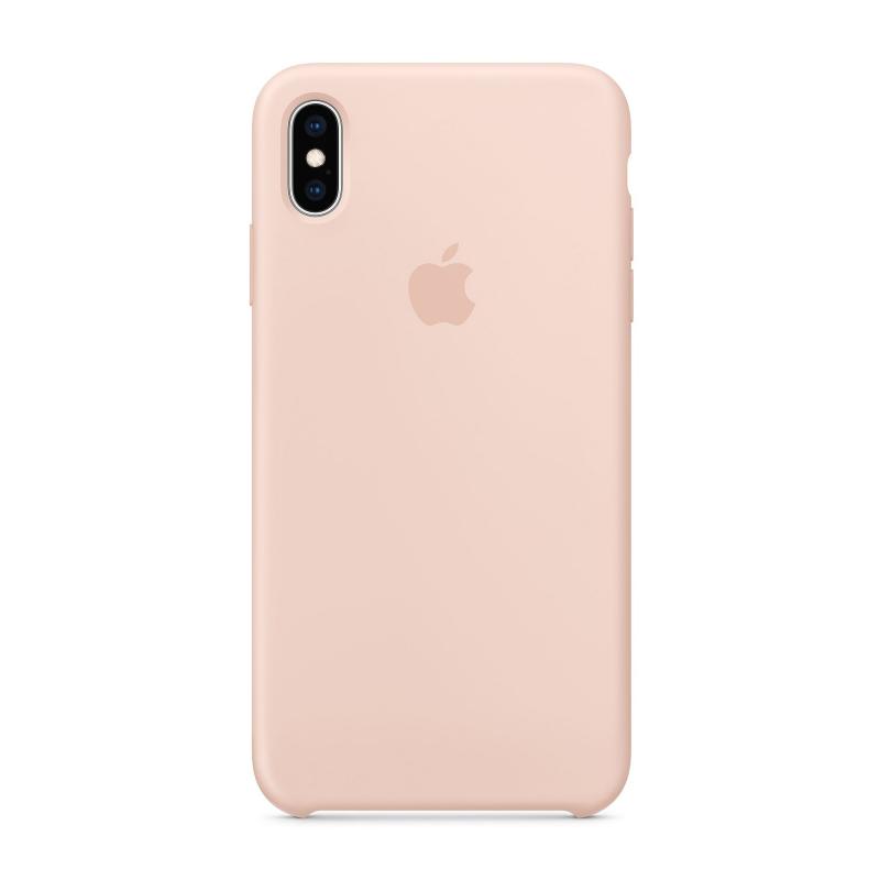 Чехол Apple на iPhone Xs Max  (Айфон) - Розовый