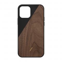 Native Union Clic Wooden для iPhone 12 | 12 Pro (Black)