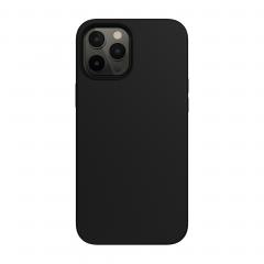 Силиконовый чехол SwitchEasy MagSkin для iPhone 12   12 Pro (Black)