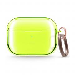 Elago Clear прозрачный чехол для AirPods Pro (Neon Yellow)