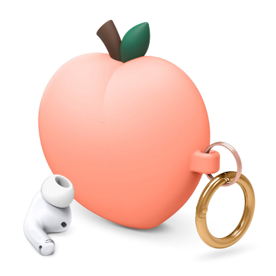 Elago Peach силиконовый чехол для AirPods Pro (Peach)
