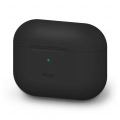 Elago силиконовый чехол для AirPods Pro (Цвет Black)