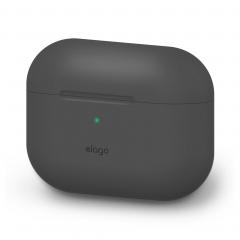 Elago силиконовый чехол для AirPods Pro (Цвет Dark Grey)