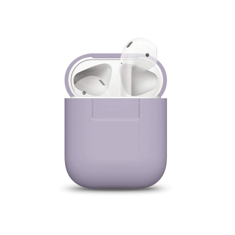 Elago силиконовый чехол для AirPods Цвет (Lavender)