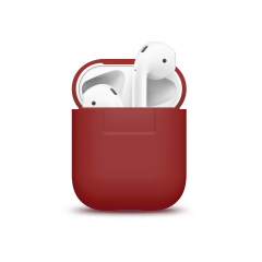 Elago силиконовый чехол для AirPods Цвет (Red)