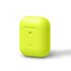 Elago силиконовый чехол A2 для AirPods с возможностью беспроводной зарядки (Цвет Neon Yellow)