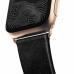Ремешок NOMAD Modern Strap (Золотистое крепление) для Apple Watch (Черный)