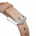 Ремешок NOMAD Modern Strap (Серебристое крепление) для Apple Watch (Бежевый)