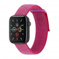 Ремешок Case-Mate Nylon Watch Band для Apple Watch (Metallic Pink)