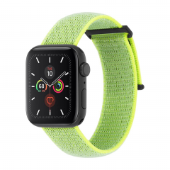 Ремешок Case-Mate Nylon Watch Band для Apple Watch (Reflective Neon Green)