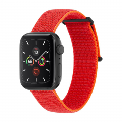 Ремешок Case-Mate Nylon Watch Band для Apple Watch (Reflective Neon Orange)