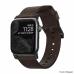 Ремешок NOMAD Modern Strap (Черное крепление) для Apple Watch (Коричневый)