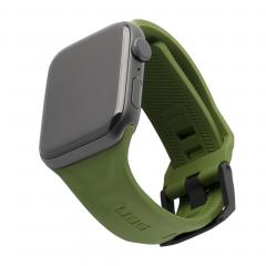 Силиконовый ремешок UAG Scout для Apple Watch 42mm / 44mm (Olive)