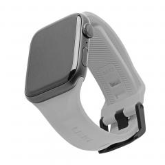 Силиконовый ремешок UAG Scout для Apple Watch 42mm / 44mm (Silver)