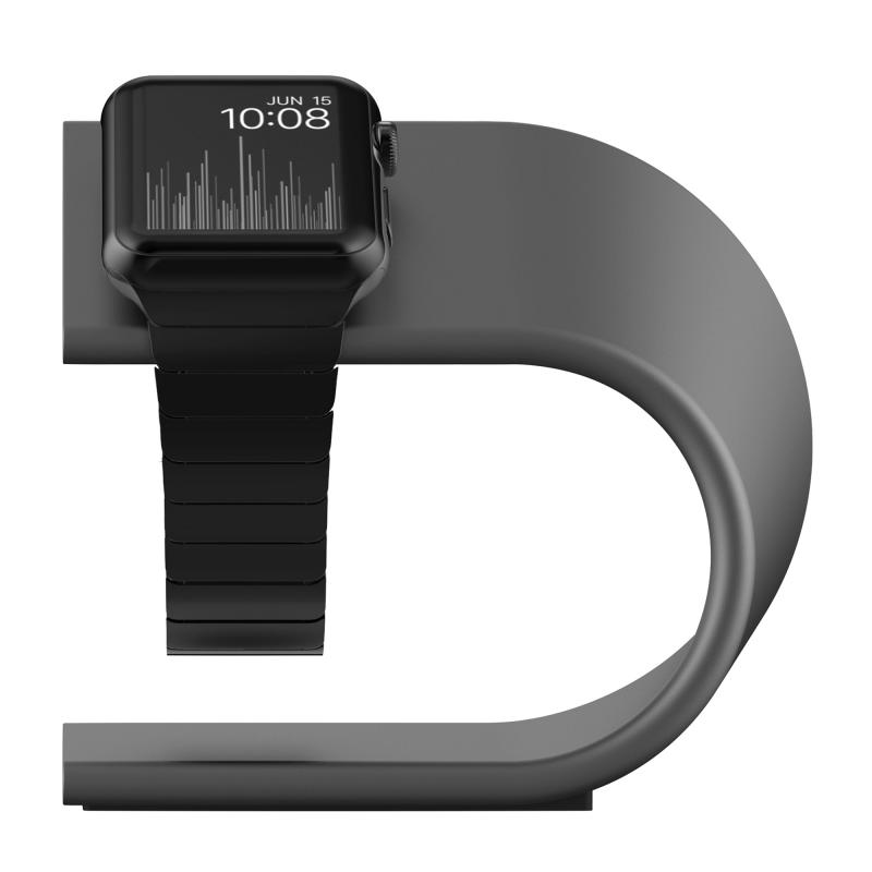 """Подставка NOMAD для Apple Watch (Цвет """"Серый космос"""")"""