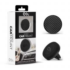 Автомобильный держатель c магнитным креплением Case-Mate Car Charms (Carbon Fiber)