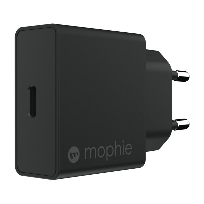 Адаптер питания Mophie USB-C PD 18W (Цвет Черный)