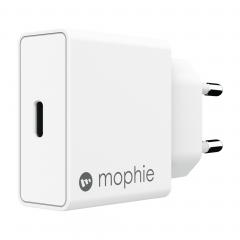 Адаптер питания Mophie USB-C PD 18W (Цвет Белый)