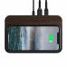 Подставка NOMAD для беспроводной зарядки Base Station Hub Edition Walnut