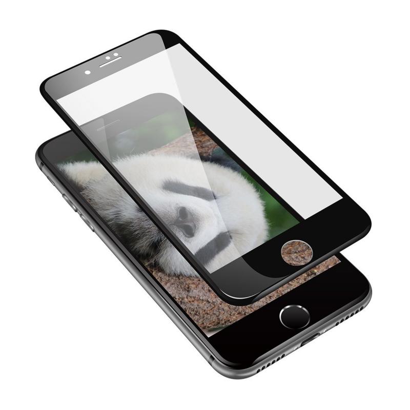 Защитное стекло HARDIZ 3D Screen Cover Black (Черная рамка) на iPhone 7/8 Plus