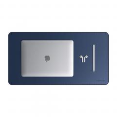 Коврик для стола Satechi Eco-Leather Deskmate (Blue)