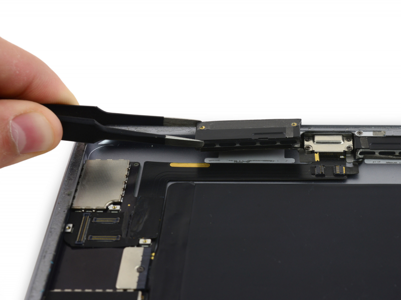Замена полифонического динамика iPad Air 2
