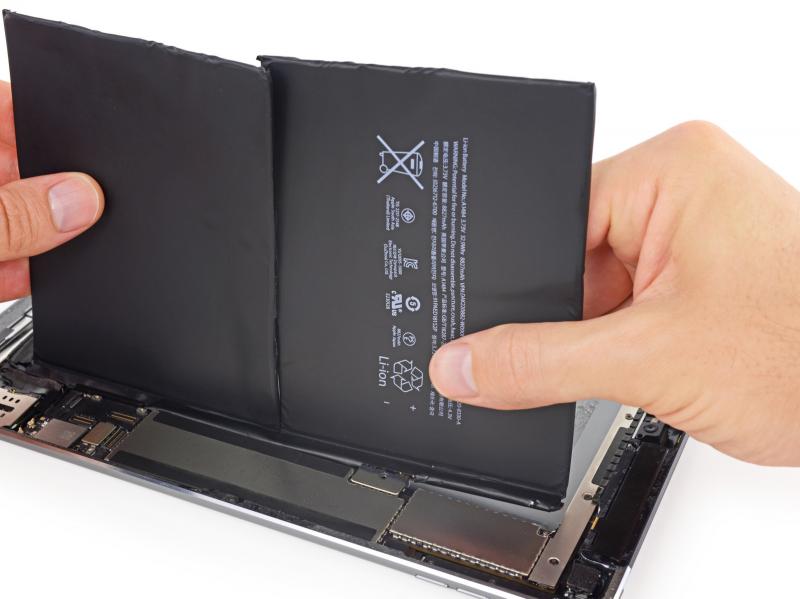 Замена аккумулятора iPad Air