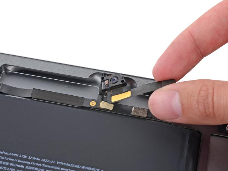 Замена фронтальной камеры iPad Air