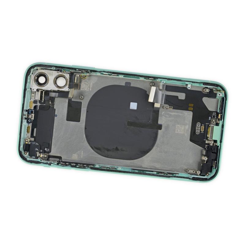 Замена заднего стекла iPhone 11