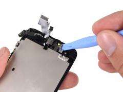 Замена фронтальной камеры (Шлейф + Датчики) iPhone 5