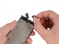 Замена слухового динамика iPhone 5
