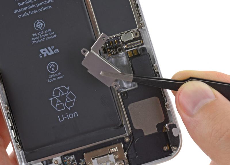 Замена вибро звонка iPhone 6 Plus