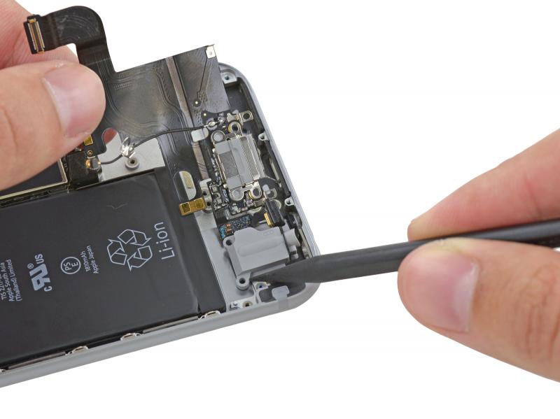 Замена разъёма зарядки (Lightning) iPhone 6