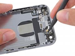 Замена шлейфа кнопки включения iPhone 6