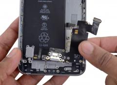 Замена разъёма зарядки (Lightning) iPhone 6s Plus
