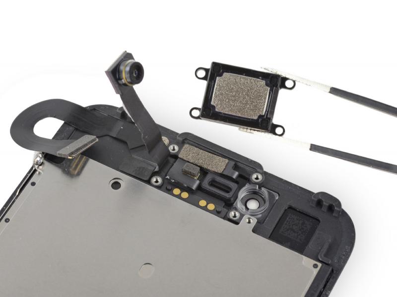 Замена слухового динамика iPhone 7