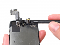 Замена фронтальной камеры (Шлейф + Датчики) iPhone 5s