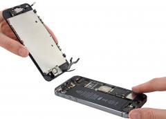 Замена LCD (Дисплей + Стекло) iPhone 5s
