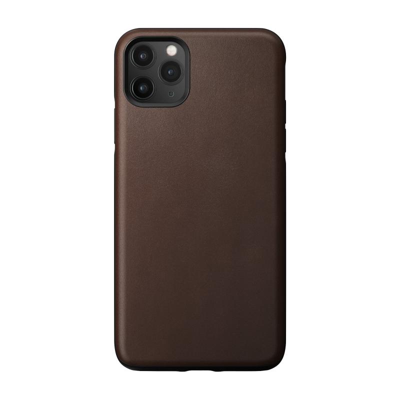 Чехол NOMAD Rugged Case на iPhone 11 Pro Max – (Цвет - Коричневый)
